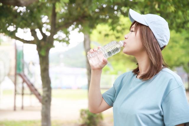 美容健康にいい水の摂取量